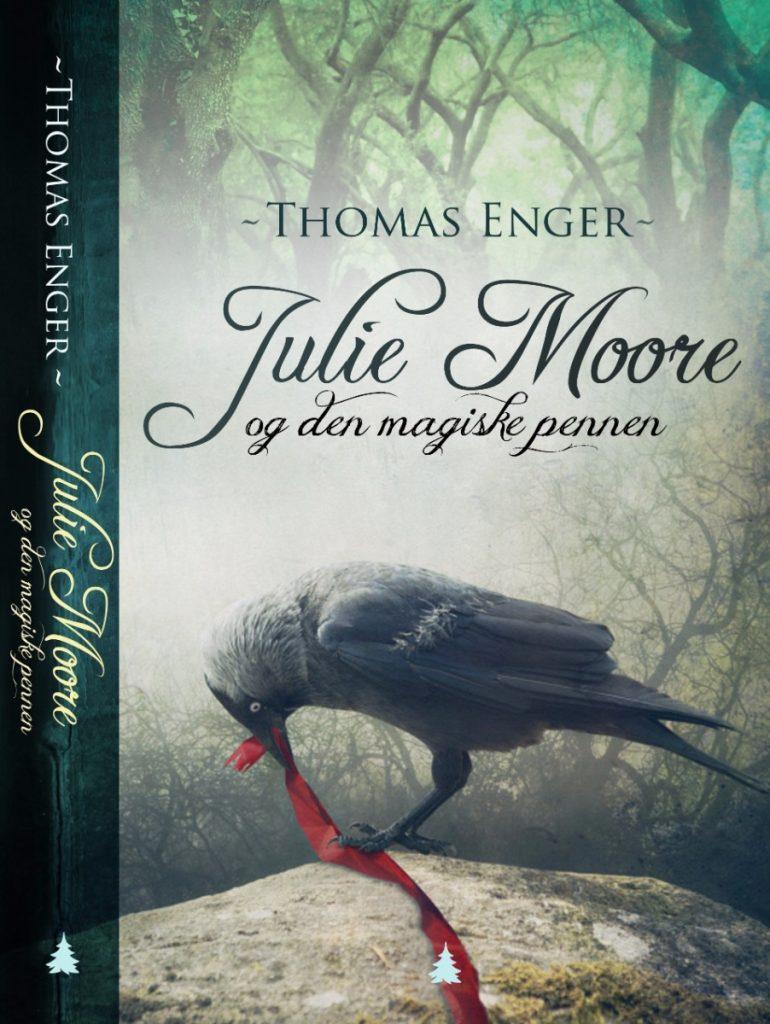 Julie Moore og den magiske pennen 3 770x1024 - Bogforsider Ungdomsbøger