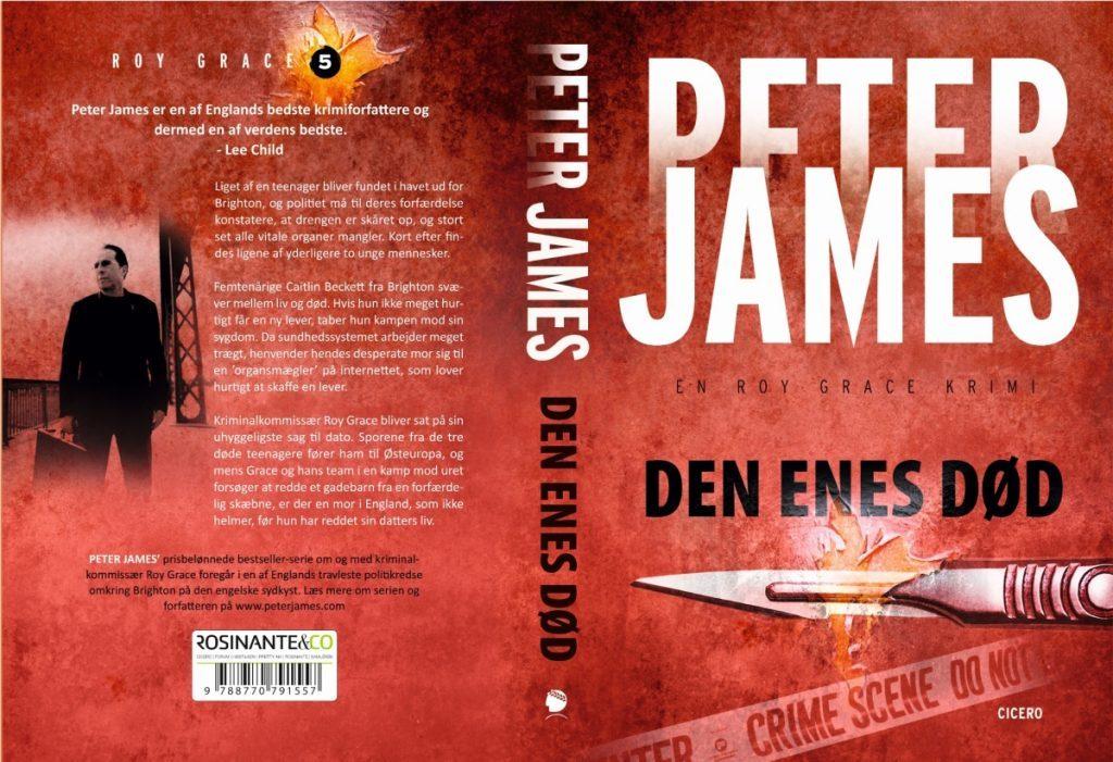 Peter James Den enes død paperback  1024x701 - Bogforsider Serier