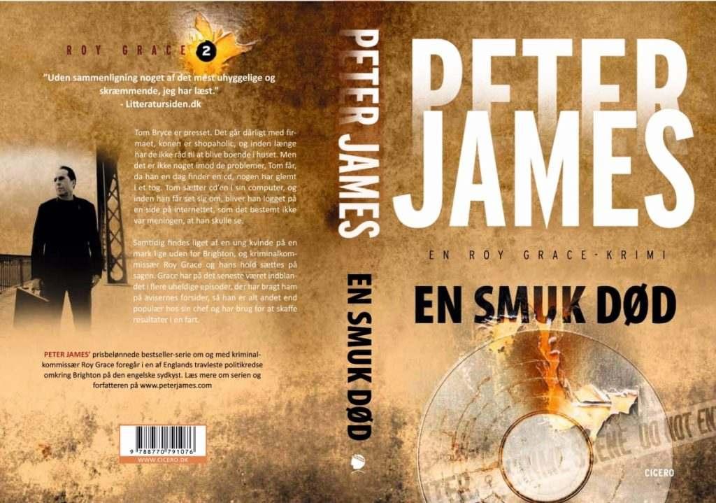 Peter James EN SMUK DØD 1024x719 - Bogforsider Serier