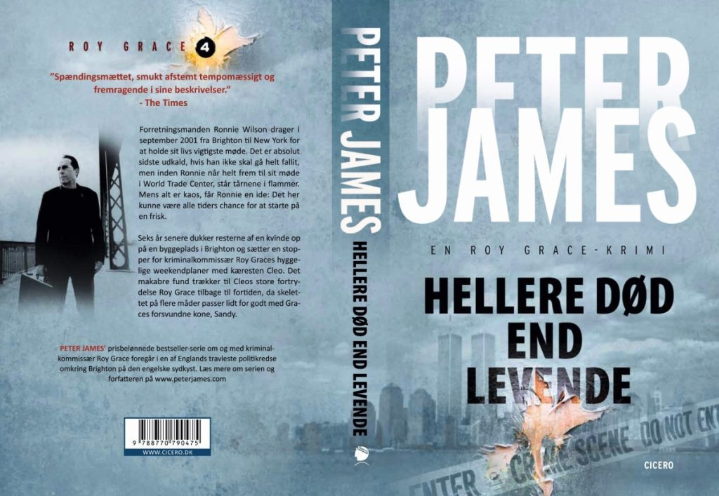 Peter James HELLERE DØD END LEVENDE 1