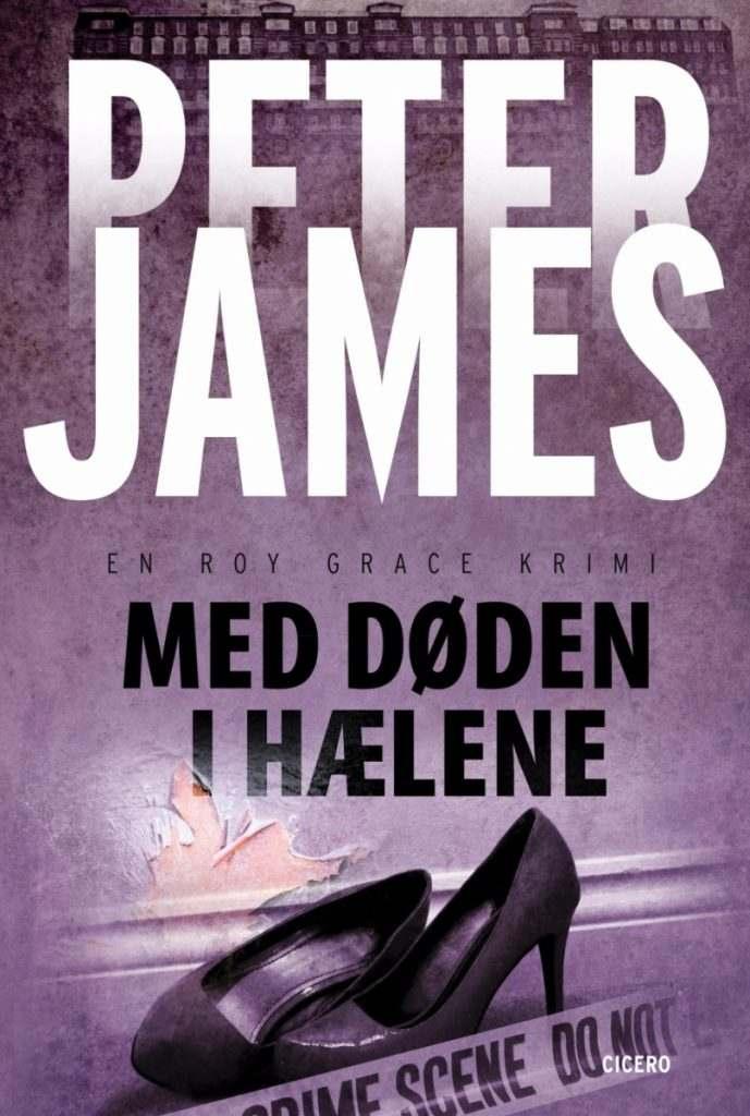 Peter James Med døden i hælene paperback 689x1024 - Bogforsider Serier