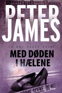 Peter James-Med døden i hælene-paperback